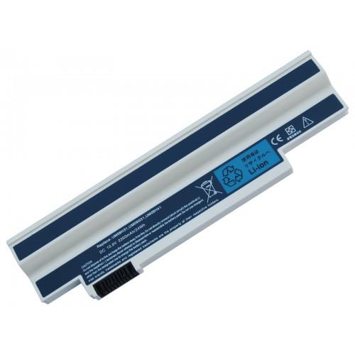 Acer Aspire One 532h, AO532h Notebook Bataryası - Beyaz - 3 Cell