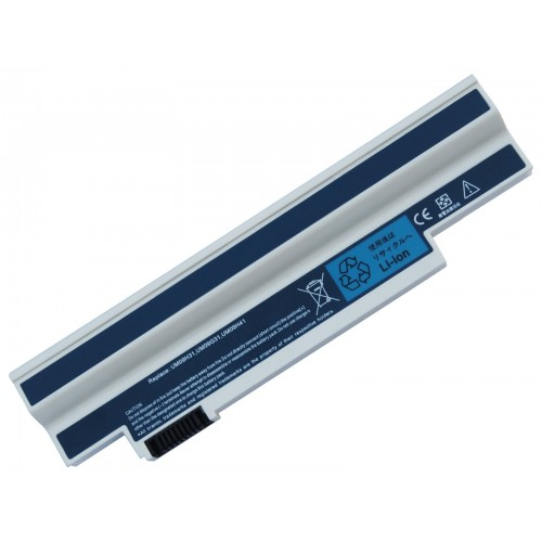 Acer Aspire One 532h, AO532h Notebook Bataryası - Beyaz - 6 Cell