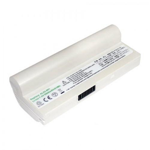 Asus Eee PC 901, 1000, 1000H Notebook Bataryası - Yüksek Kapasiteli - Beyaz - RASL-033