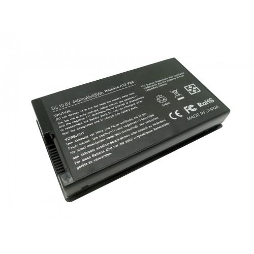 Asus F80, F81, F83, X61, X81, X82, X85, X88 Notebook Bataryası - Siyah