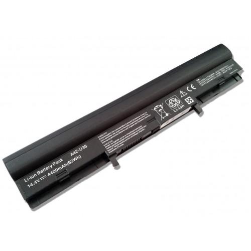 Asus U32J, U32V, U36J, U36S, A42-U36 Notebook Bataryası - 8 Cell