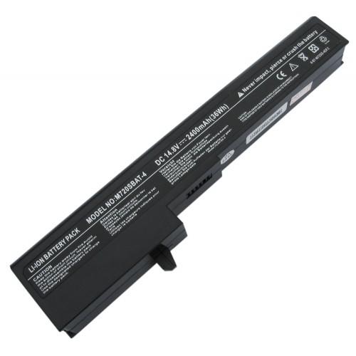 Exper M72SR, Woon M72R, M720SBAT-4 Notebook Bataryası - 4 Cell