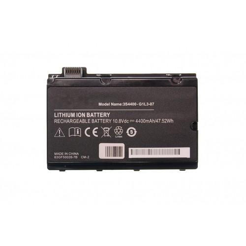 Fujitsu Siemens Amilo Pi3525, Pi3540 Notebook Bataryası - Siyah