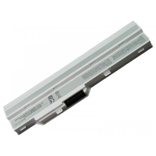 Lg X110, Datron Mobee N011, Msi U100 Notebook Bataryası - Beyaz - 3 Cell
