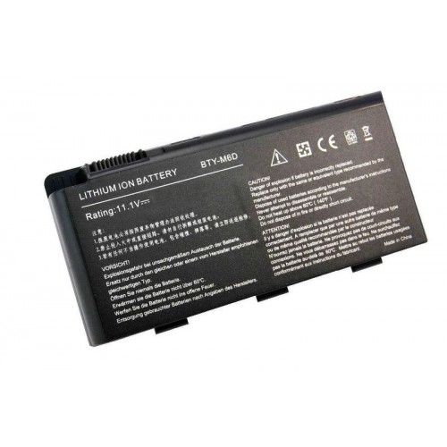 MSI GT60, GT683DX, GT70, GT780DXR, BTY-M6D Notebook Bataryası