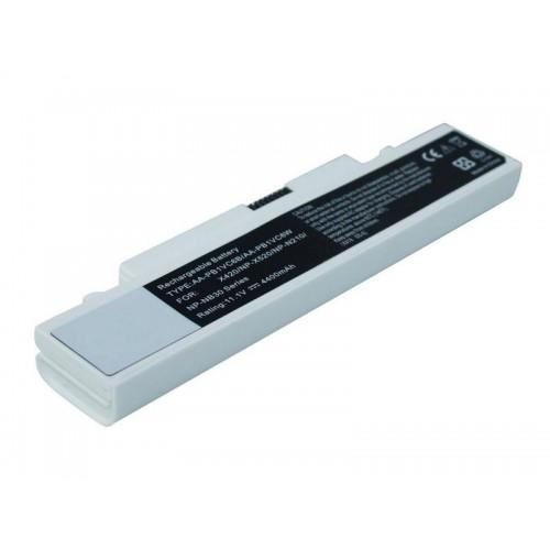Samsung N210, N220, NB30, X420, X520 Notebook Bataryası - Beyaz